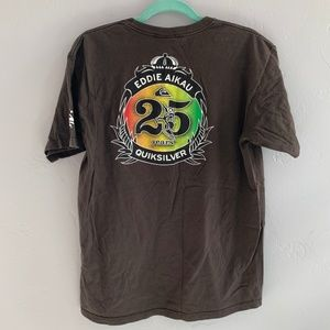 Quiksilver Shirts - Quicksilver Eddie Aikau Hawaiian Surf Tee Shirt L